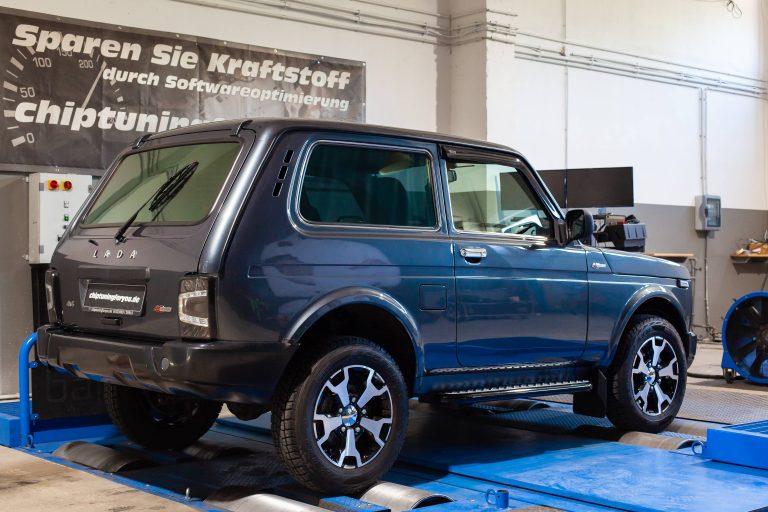 Turbolada Lada Niva 4x4 40 Anniversary Leistungsprüfstand